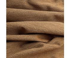 Frieda - tessuto da tappezzeria / da imbottitura - strutturato, opaco alla luce & resistente - stoffa al metro (marrone)