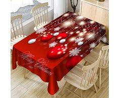 Vovotrade ❤ Tovaglia di Alta qualità Squisita fattura Artigianale Tavola da Pranzo per Natale