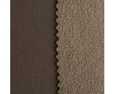 NanotexTM-Softshell con membrana climatica Softshell - impermeabile allŽacqua - tessuto/stoffa al metro (taupe)