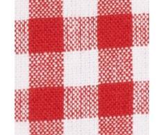 Strofinacci da cucina FILU (8 pezzi, rosso e bianco) Strofinaccio da cucina 50 x 70 cm in 100% cotone, elegante motivo a quadretti, tinto in filo in stile casa di campagna scandinava, stile Oktoberfest bavarese