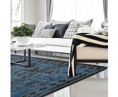 casa pura Tappeto da salotto stile Persiano linea Vintage | Blu | Polipropilene | 160x230 cm