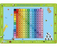 Little Wigwam Tovaglietta americana - Quadrato della moltiplicazione [Edizione: Inglese]