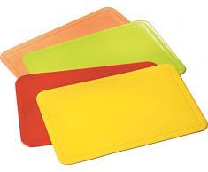 """kela """"Uni"""" - Tovaglietta segnaposto in plastica, 43,5 x 28,5 cm, Colore: Arancione"""
