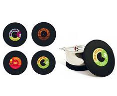 TxT Presina poggiapentola musica music pot holder d 21 x h 1cm