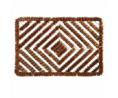 Xclou 274572 - Zerbino in fibra di cocco e filo metallico, 60 x 40 cm