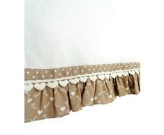 Angelica Home & Country Tenda Vetro Country Chic Casa Dolce Casa 45x70