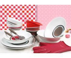 Quid 3468128 Casual Life Colors, Guanto da cucina in silicone