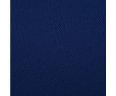Öko-Tex® Gabardine / saia in cotone ecologico - indelebile, solido & resistente alla luce - stoffa/tessuto al metro (azzurro reale)