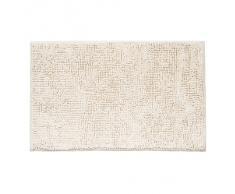 Tatkraft EVA bianco tappetino da bagno 50Â x 80Â cm antiscivolo in ciniglia
