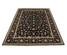 Indo Tabriz Tappeto Tappeto Orientale 306x234 cm, India Annodato a Mano Classic