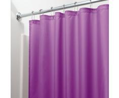 Tende Da Doccia In Tessuto : Tende per doccia color viola da acquistare online su livingo
