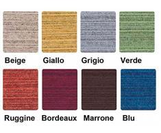 Casa Tessile Melange fodera cuscino varie misure - GRIGIO, 50x50 cm.