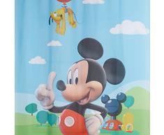 AG Design fcsl 7141 Disney Mickey Mouse, cameretta bambini tenda/tenda, 1 Parte, plastica, Multicolore, 140 x 245 cm