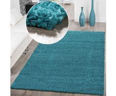 Tappeto Pelo Lungo Turchese : Tappeti per camera da letto color turchese da acquistare online su