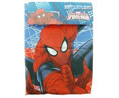 Completo Letto Lenzuola Singolo Marvel Spiderman Microfibra Sopra Sotto Federa