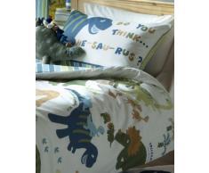 Catherine Lansfield Kids - Set Copripiumino per letto dei bambini, motivo: dinosauri