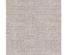 Ipersan Marine, Completo letto matrimoniale, 100% Puro Cotone, Beige/Bianco