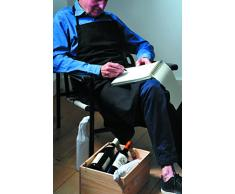 LAtelier du Vin Sommelier Grembiule in cotone nero 095436-4