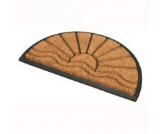"""JVL - Zerbino """"Comfort"""" a mezzaluna, base in gomma, 40 x 70 cm, modelli asortiti, 1 pezzo"""