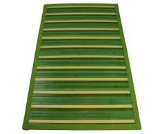Bamboo Degrade tappeto passatoia 60x240 cm. [VERDE]