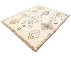 Tappeto Berber Indo - Off-Bianco/Beige 190x240 Tappeto Moderno