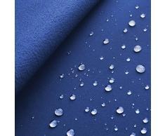 Arctic Softshell - tessuto impermeabile al vento & all'acqua - laminato a 3 strati - stoffa al metro (azzurro reale)