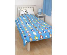Carattere Mondo Disney Club Penguin biancheria per letto singolo