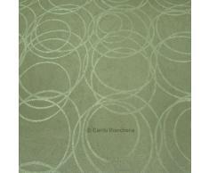 Stoffa Tessuto damascato al metro Altezza 280 cm - Colore Verde E835
