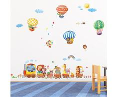 Decowall DA-1406 Animal Viaggio Wall Stickers