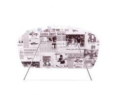Portariviste in propilene decorazione giornale quotidiano giornali porta riviste