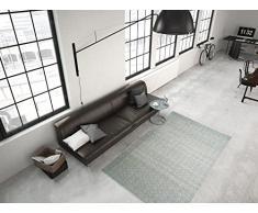 """'TAPPETO """"Fontana 210 120 x 170 cm, Tappeto Intrecciato a Mano, 100% poliestere, Indoor e Outdoor."""