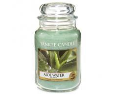 Yankee Candle Aloe Water - Candela profumata, giara grande