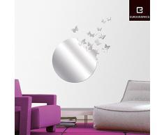 Specchio adesivo acquista specchi adesivi online su livingo for Specchio da parete 180 cm
