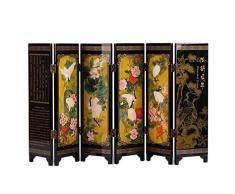 lachineuse Paravento Cinese Decorativo