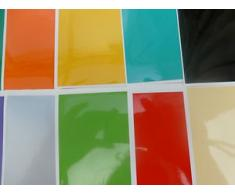 Smarts-Art - Piastrelle adesive per bagno e cucina Easy Fit, Arancione, 150Mm X 150Mm
