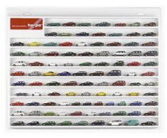 Herpa 029223 - Bacheca espositiva per modellini di camion, 57 x 45 x 3,5 cm, bianco