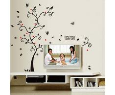 "Wall Sticker, DDLBiz® Adesivi Murales, Carta da Pareti ""Famiglia photo frame albero"" Decorazione Murali da Parete"