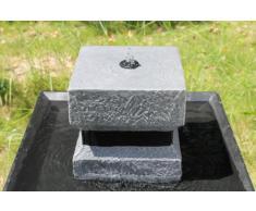 Wehmann Fontana Solare Asia Fontana Solare Zengarten Brunnen Completo per Giardino e Terrazza Tag Und Nacht !!