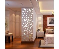 Specchio adesivo acquista specchi adesivi online su livingo - Specchi particolari da parete ...
