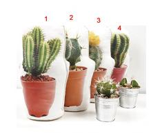 Vaso Cactus fermaporta in tessuto, 30 cm