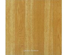 44 Piastrelle per Pavimento Adesive Effetto Legno - Cucina/Bagno