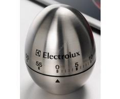 Electrolux - Timer a forma di uovo per la cucina, 50 minuti, metallo, colore: Satinato