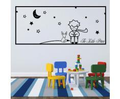 Adesiviamo Wall0000748 N M Adesivo da Parete, PVC, Nero, 90 x 40 cm