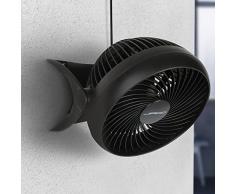 Jago Ventilatore da tavolo da parete ventilatore turbo silenzioso 35 W testa inclinabile 180° ca. 27,5/27/24 cm