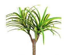 Euro Palms 82505775 - Pianta artificiale, 50 cm, colore: Giallo/Verde