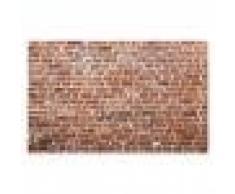 Dolity Arazzi 3D Decorazione Parete Ambiente Domestico Tappezzeria Stampato Impermeabili 150x130cm - # 14 Muro di mattoni