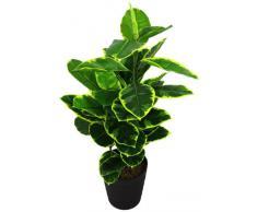 Geko - Pianta artificiale di Ficus, misura: L, 90 cm