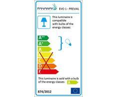 lampadari ventilatori : Vinco 70925 Ventilatore da soffitto 132 cm - 3 pale - 1 luce con ...