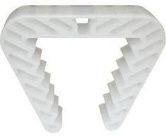 1 fermo finestra, blocco finestra, fermafinestra, articolo per sicurezza bimbi plastico trasparente 58 x 46 mm
