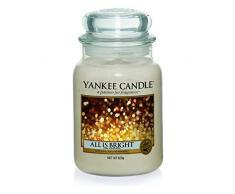 Yankee Candle - Barattolo grande con candela, tutto è luminoso